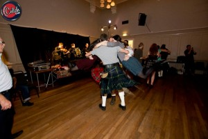 Dancing the Cumberland Square Eight with HotScotch Ceilidh Band in Edinburgh